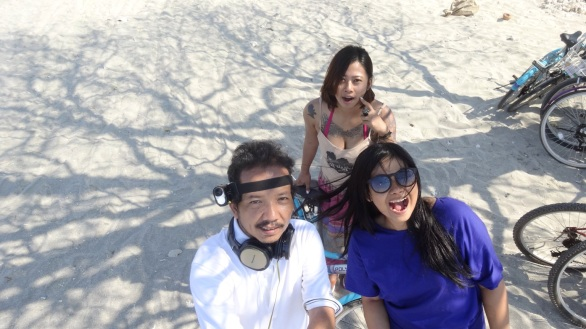 With Maurina and Lysistrata